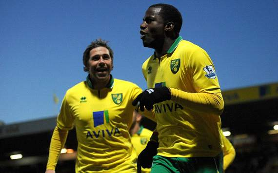 EPL, Norwich City v Sunderland, Sebastien Bassong