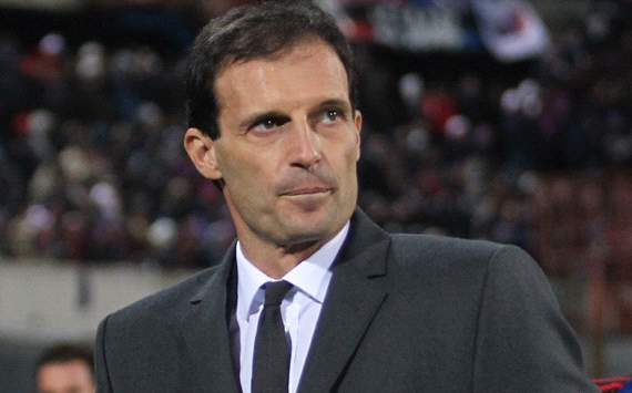 Allegri targets top-three finish