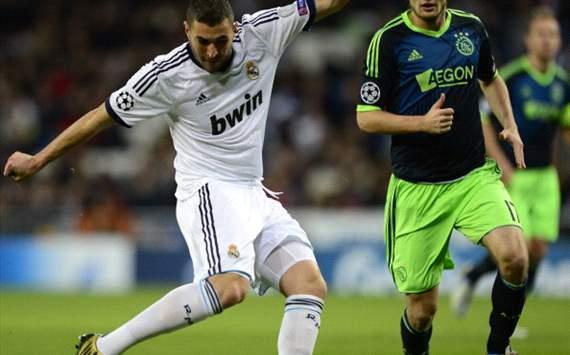 Karim Benzema - Real Madrid vs Ajax