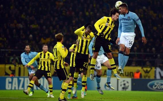 UEFA Champions League, Borussia Dortmund vs. Manchester City
