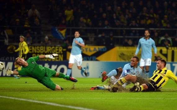 UEFA Champions League, Borussia Dortmund vs. Manchester City, Julian Schieber