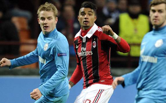 Kevin Boateng - Milan-Zenit - Champions League