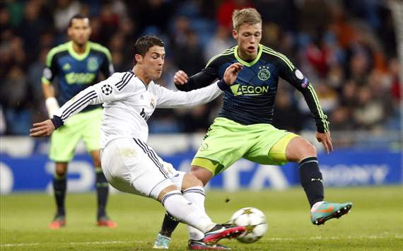 Real Madrid - Ajax, Cristiano Ronaldo, Viktor Fischer