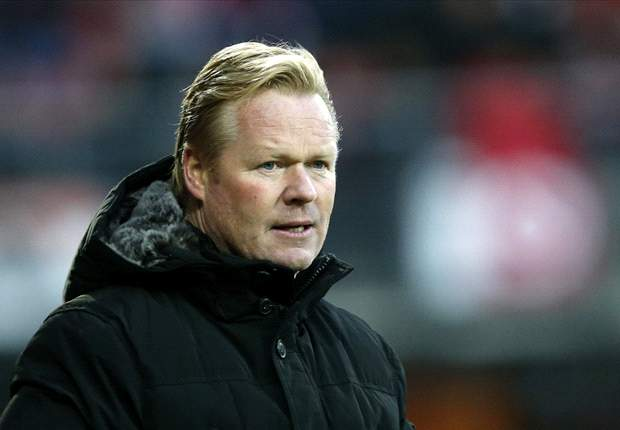 Koeman coy on Manchester City rumors