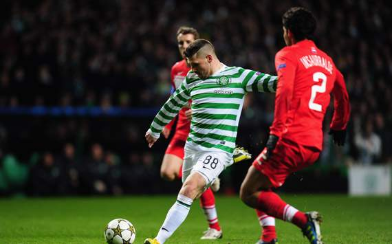 CL - Celtic v FC Spartak Moscow, Gary Hooper