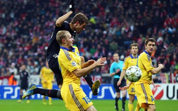 Mller, FC Bayern - BATE