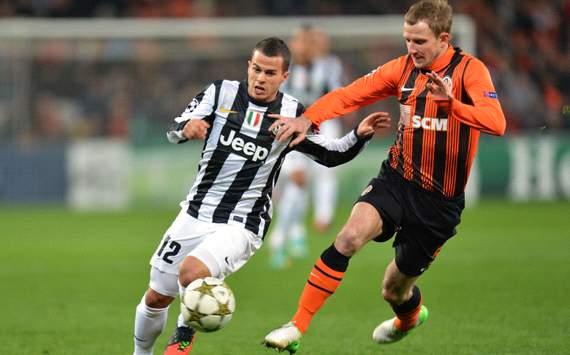 Giovinco &amp; Kucher - Shakhtar-Juventus - Champions League