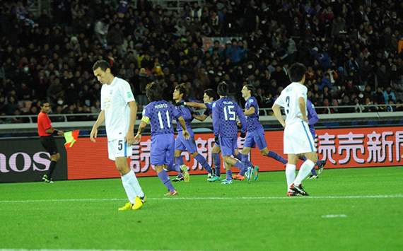 Sanfrecce Hiroshima celebrating (CWC)