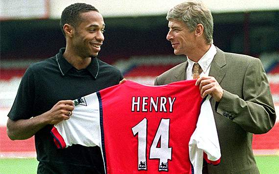 'Sad' criticism of Wenger not deserved, says Henry