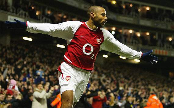 Thierry Henry, otro regreso del dolo al Arsenal