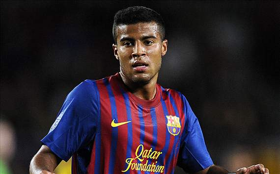 Barca's Rafinha wants to face brother Thiago with Brazil