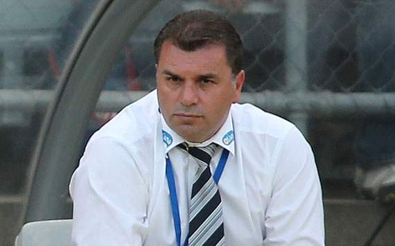 Ange Postecoglou Pimpin A-League All-Stars Lawan Manchester United