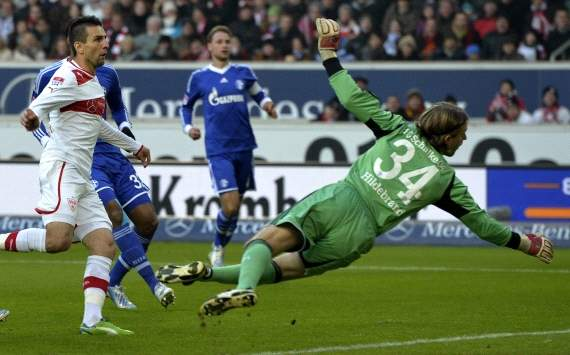 Germany, Bundesliga, VfB Stuttgart vs. FC Schalke 04, Vedad Ibisevic