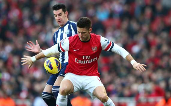Olivier Giroud,Liam Ridgewell