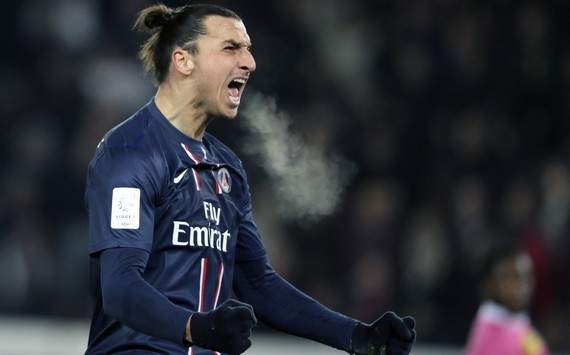 Ligue 1 : Zlatan Ibrahimovic (Paris SG vs Evian TG)
