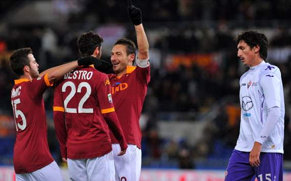 Serie A Team of the Week: Two-goal Totti the star of the round