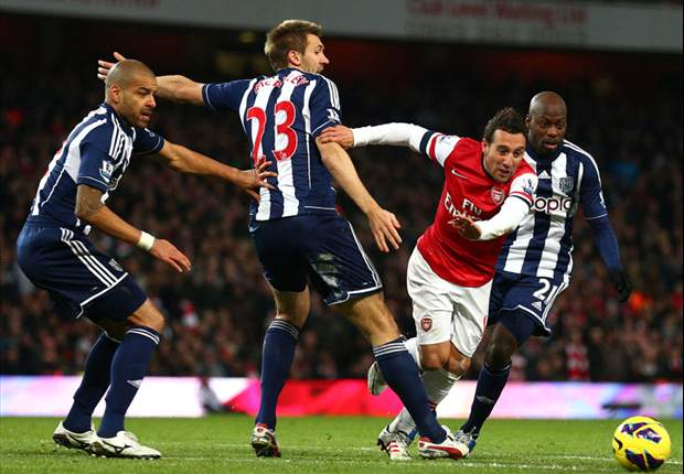 I'd punish any West Brom player for diving like Cazorla, reveals Clarke