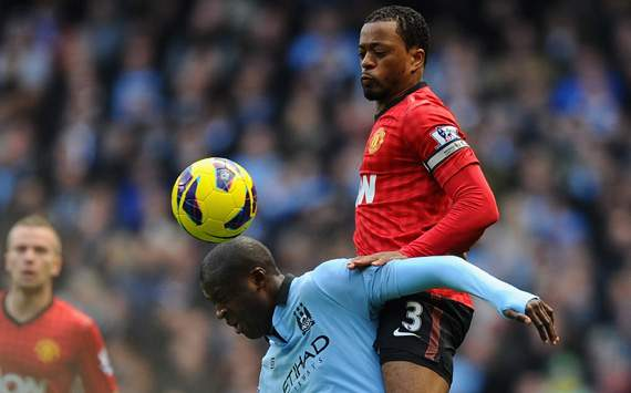 Evra: Sir Alex Ferguson would sack us all if we do not win title again