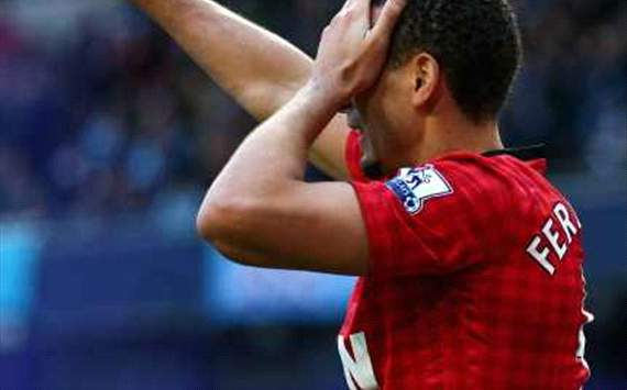 ANG, Man U - Ferdinand ironise
