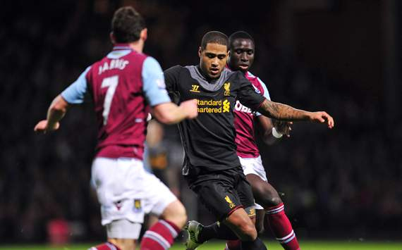 EPL - WEST HAM-LIVERPOOL, Glen Johnson