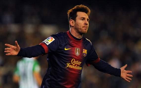 Messi - Betis vs Barcelona