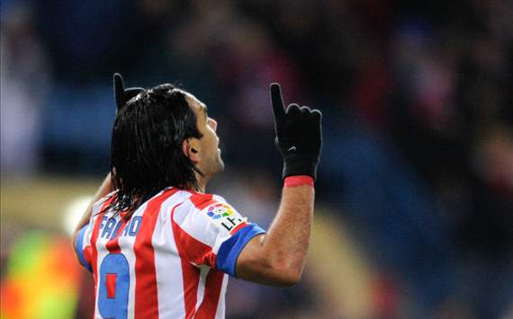 Radamel Falcao, Atletico Madrid (Getty)