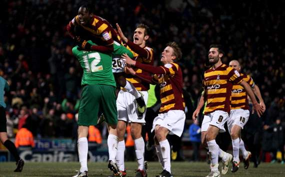 Bradford reinstated to this season's FA Cup following successful appeal