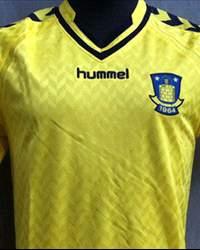 Brondby home jersey hummel