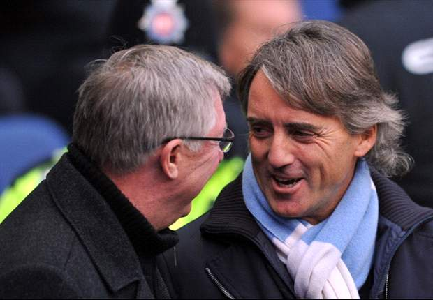 'I always win' - Roberto Mancini warns Sir Alex Ferguson Manchester City are hungry for more trophies