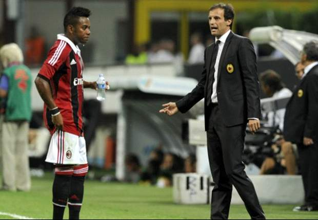 Allegri: Robinho will not leave in January