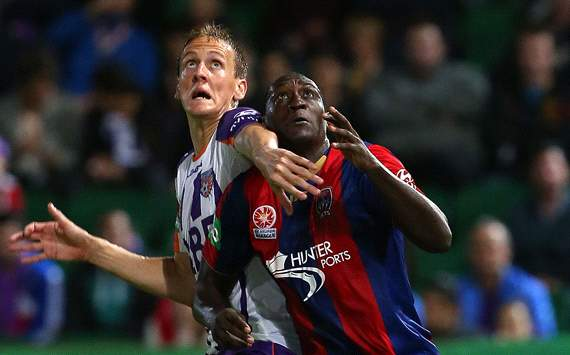 Michael Thwaite - Perth Glory - Emile Heskey - Newcastle Jets