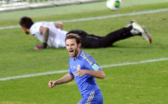 World Club Championship:Monterrey vs Chelsea,Juan Mata