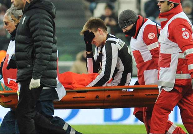 Juventus hit by Bendtner injury blow