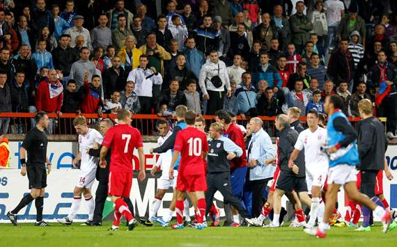Caulker & Ince set to learn fate at Uefa appeal hearing over Serbia clashes