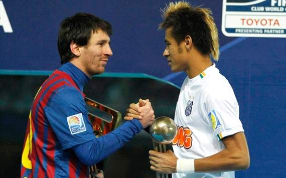 Messi: Neymar at Barca would be wonderful
