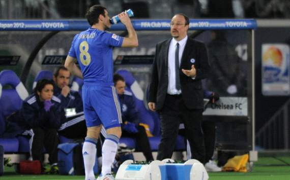 Benitez coy on Cole & Lampard's Chelsea futures