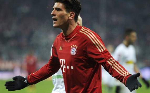 Mario Gomez, Bayern - Gladbach