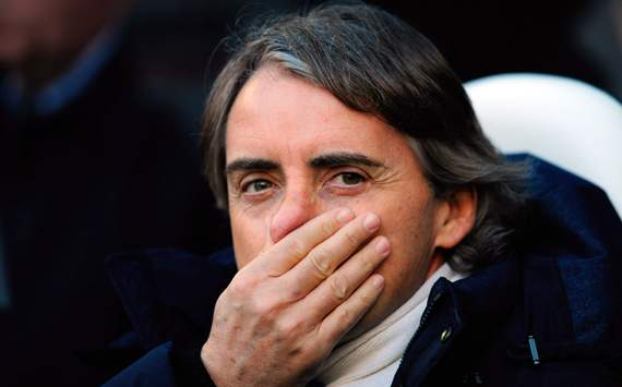 Mancini acredita em tropeo do Manchester United