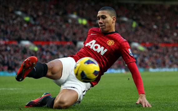 Smalling 'relieved' to return to action for Manchester United