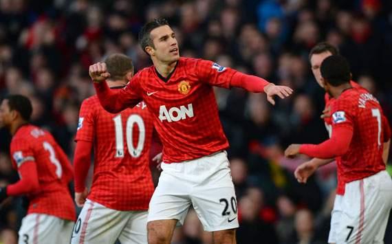 EPL - Manchester United v Sunderland, Robin van Persie
