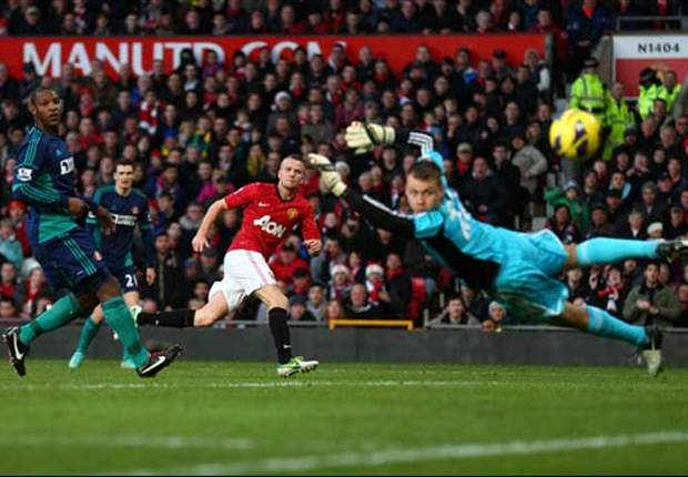 Ferguson calls on Cleverley to score more goals after Manchester United's victory over Sunderland