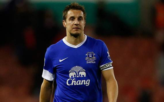 Phil Jagielka: Everton won't make same mistakes as Liverpool at Oldham