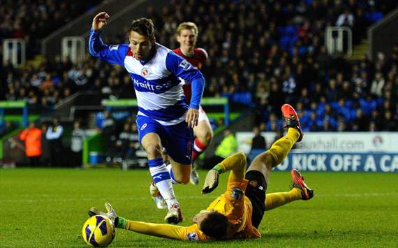 Adam Le Fondre - Reading vs. Arsenal