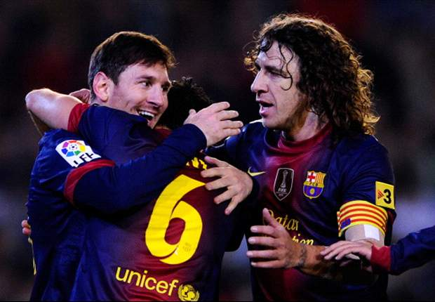 Is Puyol, Xavi &amp; Messi football's greatest spine?
