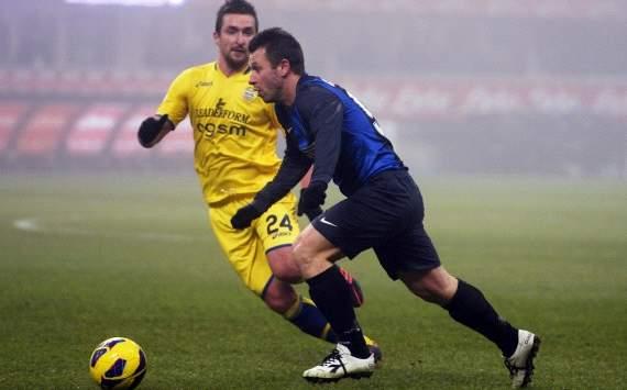 Armin Bacinovic, Antonio Cassano - Inter-Verona