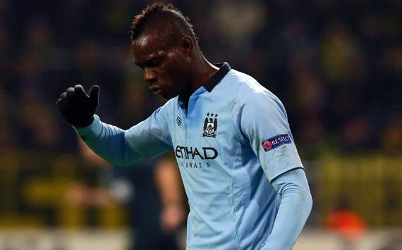 TEAM NEWS: Balotelli on bench for Manchester City v Watford