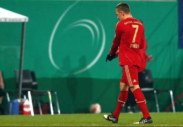 Red card in cup clash was unfair, says Ribery