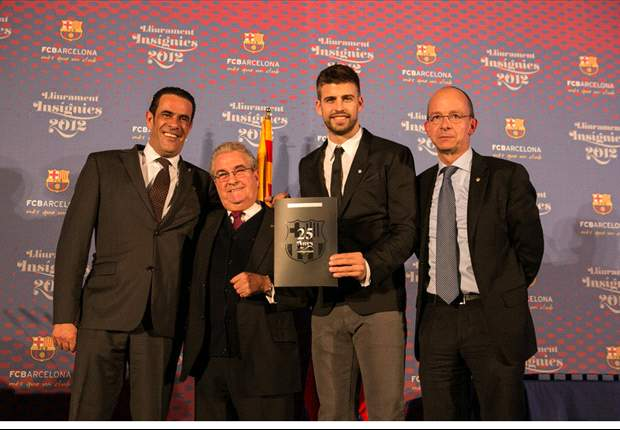 Pique: My grandfather taught me what it meant to be a Barca fan