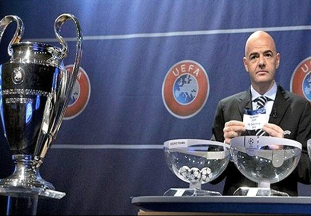 Champions League last 16 draw an exact repeat of rehearsal