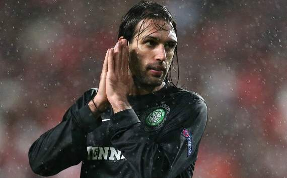 Celtic striker Samaras hoping for 'fairer game' in second leg against Juventus